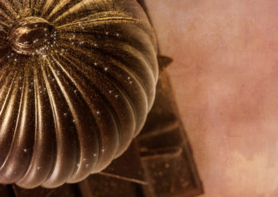 boule en chocolat patissier chocolatier stanislas Gozdek à Binche