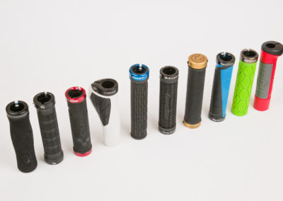 studio photography - test mountain bike grips