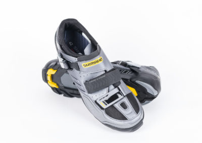 studio photography - Shimano shoes