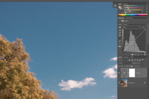 Image de l'interface de Adobe Photoshop