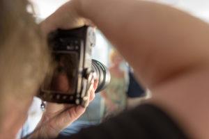Utilisation d'un objectif télé pour des portraits