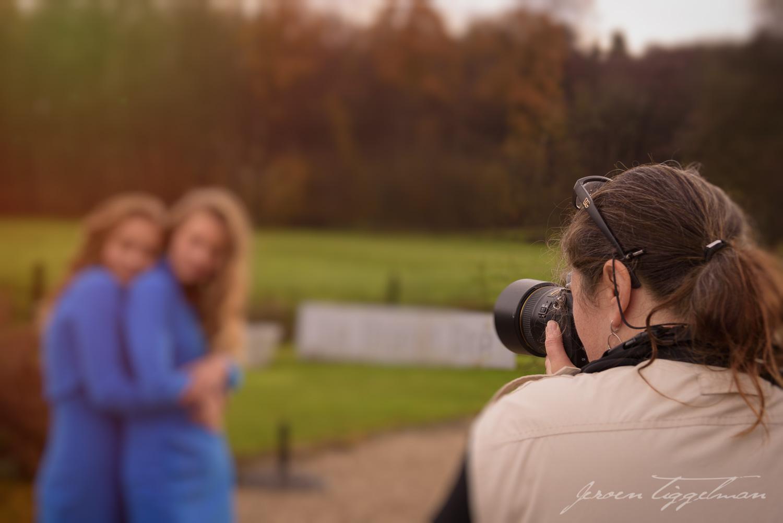 Prise de vue pendant un atelier photo